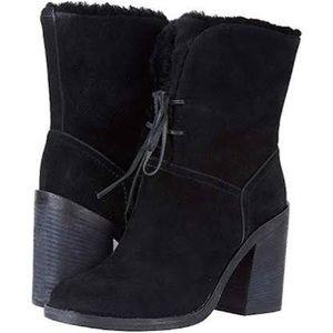 ✨Ugg Jerene fur lined heel boots✨